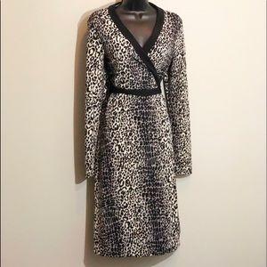 MICHAEL MICHAEL KORS L (12/14) true wrap dress
